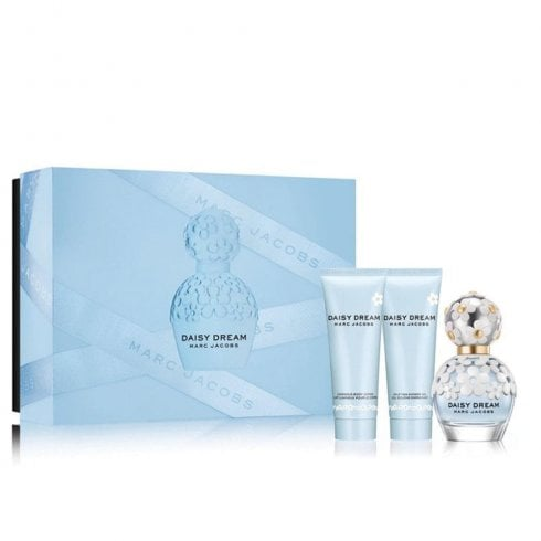 Marc Jacobs Daisy Dream Edt 50ml And Body Lotion 75ml And Shower Gel