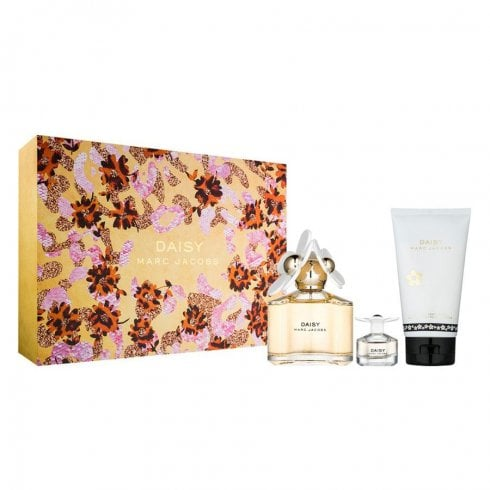 Marc Jacobs Daisy Gift Set 100ml EDT + 150ml Body Lotion + 4ml EDT