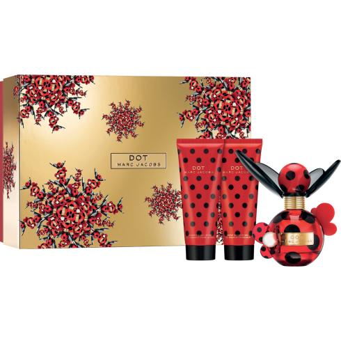 Marc Jacobs Dot Gift Set 50ml EDP + 75ml Body Lotion + 75ml Shower Gel