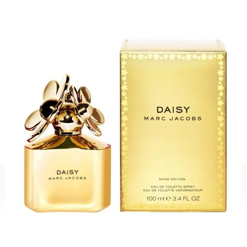 Marc Jacobs Marc Jacob Daisy Shine EDT 100ml Spray - Gold Edition