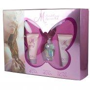 Mariah Carey Luscious Pink Gift Set 30ml EDP Spray + 50ml Body Lotion + 50ml Shower Gel/Bubble Bath