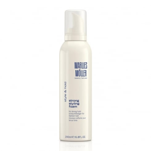 Marlies Moller Style And Hold Strong Styling Foam 200ml