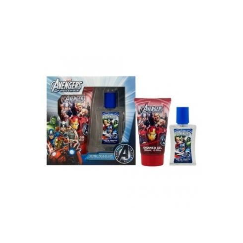 Marvel Avengers Gift Set 50ml EDT + 150ml Shower Gel