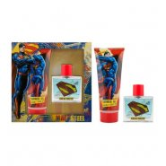 Marvel Superman Man of Steel Invincible Gift Set 50ml EDT + 150ml Shower Gel