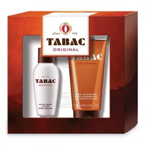 Maurer & Wirtz Mäurer & Wirtz Tabac Original Gift Set 50ml Aftershave Lotion + 100ml Shower Gel