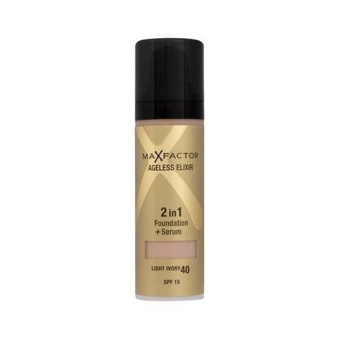 Max Factor Ageless Elixir 2 in 1 Foundation + Serum 30ml Ivory 40