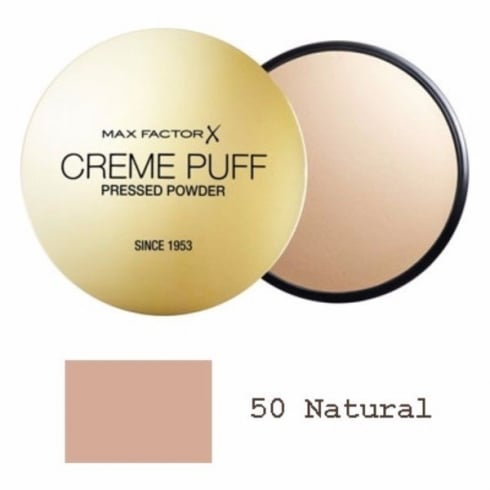 Max Factor Creme Puff Pressed Powder 21g - Natural Refill
