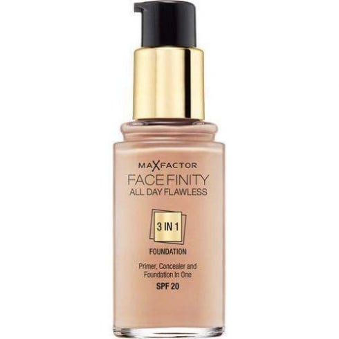 Max Factor Facefinity All Day Flawless 3 in 1 Foundation 30ml - SPF20 Golden 75