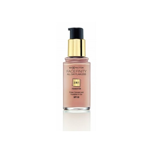 Max Factor Facefinity All Day Flawless 3 in 1 Foundation SPF20 30ml (Warm Almond 45)