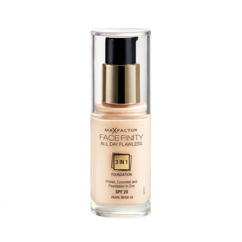 Max Factor Mf Facefinity 3 In 1 Foundation 35 Pearl Beige 30ml SPF 20