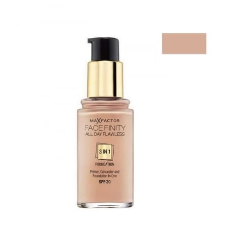 Max Factor Mf Facefinity 3 In 1 Foundation 50 Natural 30ml SPF 20