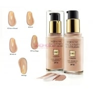 Max Factor MF FACEFINITY 3 IN 1 FOUNDATION 65 ROSE BEIGE 30ML SPF 20 (3)