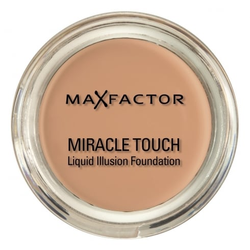 Max Factor Miracle Touch Liquid Illusion Foundationation - 45 Warm Almond