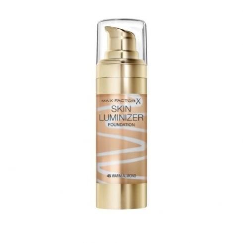 Max Factor Thunder & Light Skin Luminizer Porcelain Foundation 30ml - 45 Warm Almond