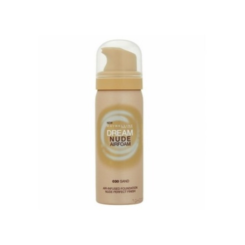Maybelline Dream Nude Airfoam Foundation 50ml (030 Sand)
