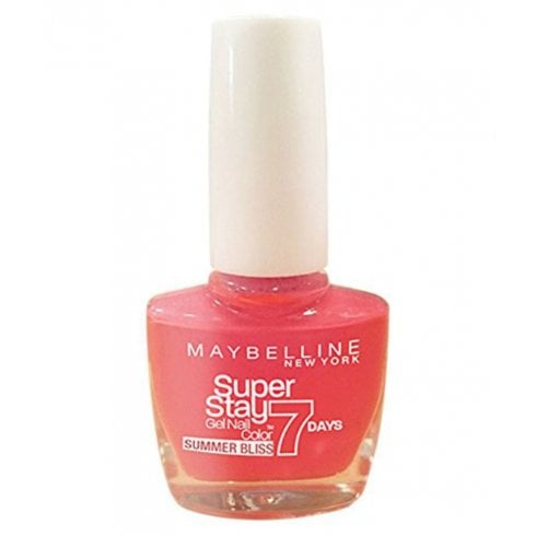 Maybelline Super Stay 7 Days Gel Nail 872 Red Hot Getaway 10ml