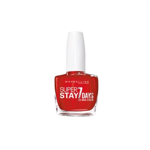 Maybelline Superstay 7 days Gel Nail Color 008 Passionate Red