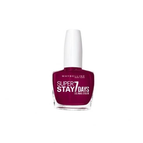 Maybelline Superstay 7 days Gel Nail Color 270 Ever Burgundy