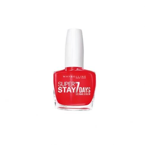 Maybelline Superstay 7 days Gel Nail Color 490 Rose Salsa