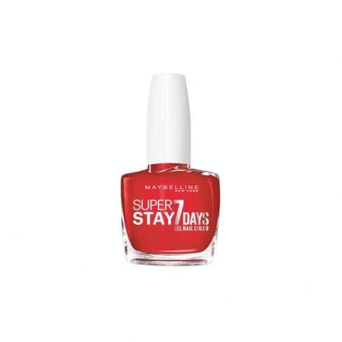 Maybelline Superstay 7 days Gel Nail Color 493 Blood Orange