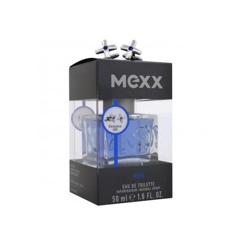 Mexx Man Gift Set 50ml EDT Spray + Cufflinks