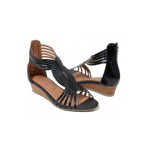 MinX Black Ladies Shoes