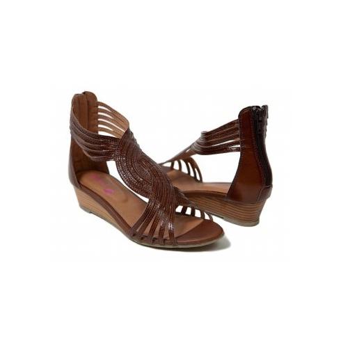 MinX Chocolate Ladies Shoes