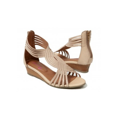 MinX Tan Ladies Shoes