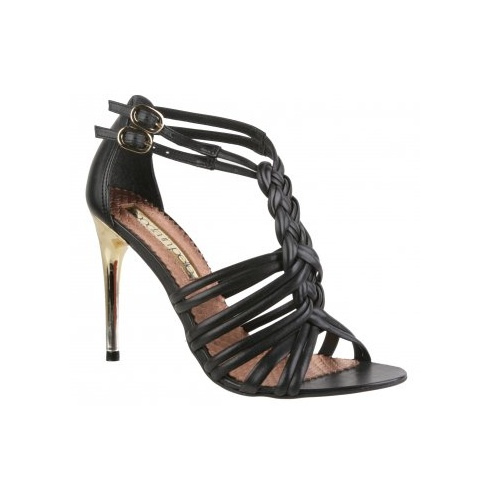Moda in Pelle Ladies Leah Shoes - Black