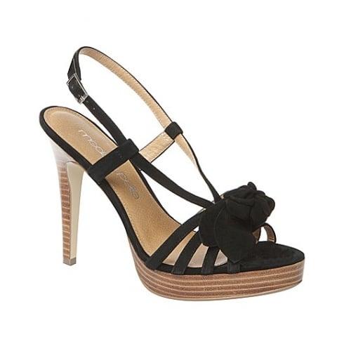 Moda in Pelle Ladies Mariella Shoes - Black