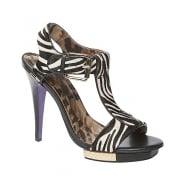 Moda in Pelle Rima - Zebra / Pony Print