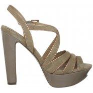 Moda in Pelle Sellars - Strap Vamp Platform Sandal - Beige