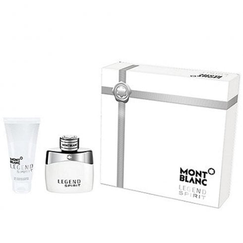 Montblanc Mont Blanc Legend Spirit Gift Set 50ml EDT + 100ml Shower Gel
