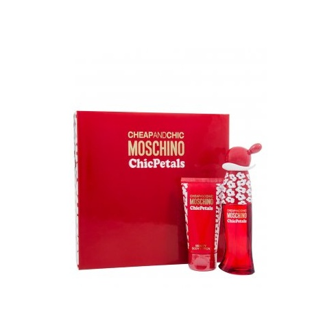 Moschino Cheap & Chic Chic Petals Gift Set 30ml EDT + 50ml Body Lotion