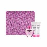 Moschino Pink Bouquet EDT Spray 50ml Set 3 Pieces