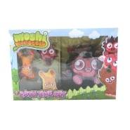 Moshi Monsters Diavlo Bath Time Gift Set 300ml Bath & Shower Gel + 2 x Shower Gel Pouch + Magic Flannel