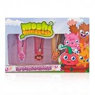 Moshi Monsters Gift Set 4x Lip Gloss + Decorative Charms