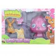 Moshi Monsters Poppet 3D Gift Set 300ml Bath Gel + 2 x 60ml Shower Gel + Magic Flannel