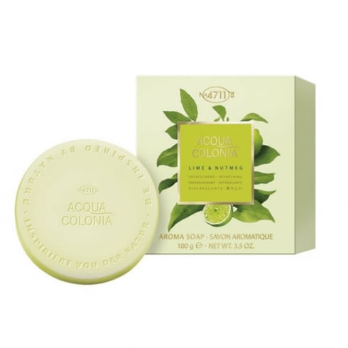 Muelhens 4711 Acqua Colonia Lime And Nutmeg Soap 100g