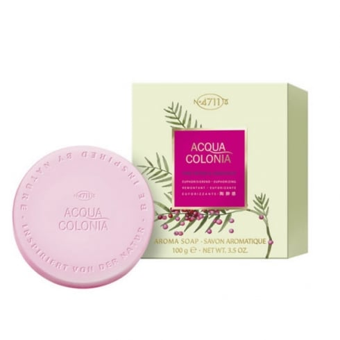 Muelhens 4711 Acqua Colonia Pink Pepper And Grapefruit Soap 100g