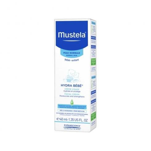 Mustela Hydra Bébé Facial Cream 40ml - Normal Skin