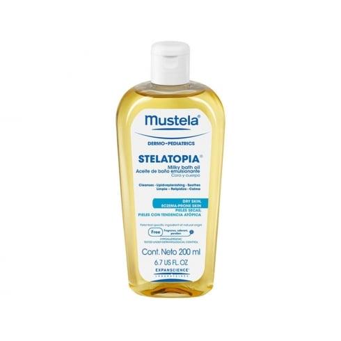 Mustela Stelatopia Bath Oil 200ml
