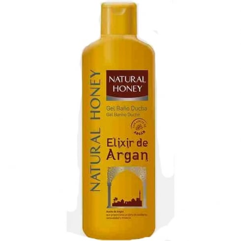 Natural Honey Argan Elixir Shower Gel 750ml