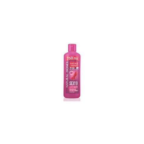 Natural Honey Sexy 9 Love Bath Shower Gel 750ml
