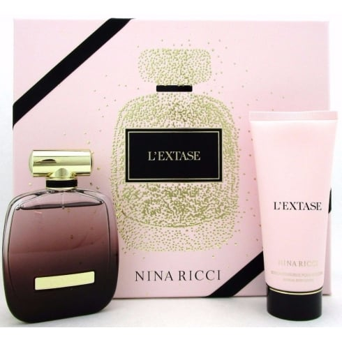 Nina Ricci L'Extase 80ml EDP Spray / 200ml Sensual Body Lotion