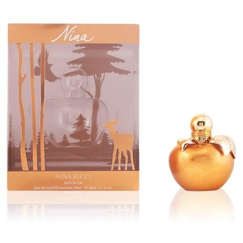 Nina Ricci Nina Collectors Edition (Christmas 2015) 80ml EDT Spray