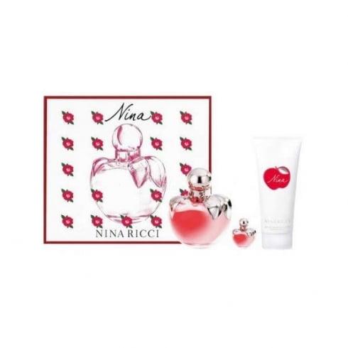 Nina Ricci Nina EDT Spray 80ml Set 3 Pieces 2017
