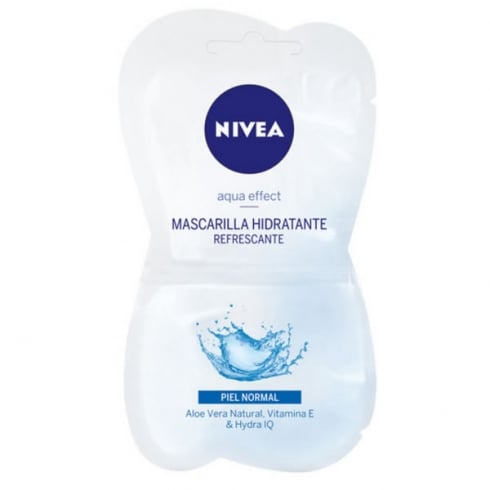 Nivea Aqua Effect Moisturizing Mask 2x7.5ml