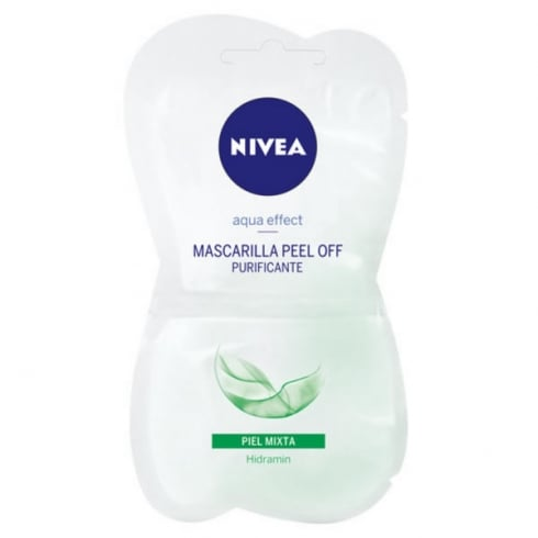 Nivea Aqua Effect Peel Off Purifying Mask 2X5ml