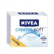 Nivea Creme Soft 3X100g